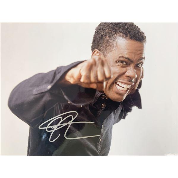 Chris Rock signed photo