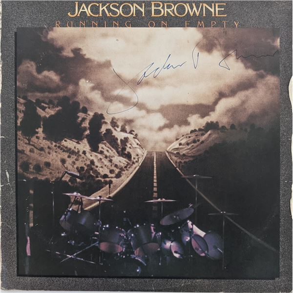 Jackson Browne Running On Empty Signed Album