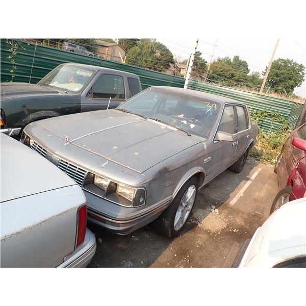 1986 Oldsmobile Cutlass Ciera