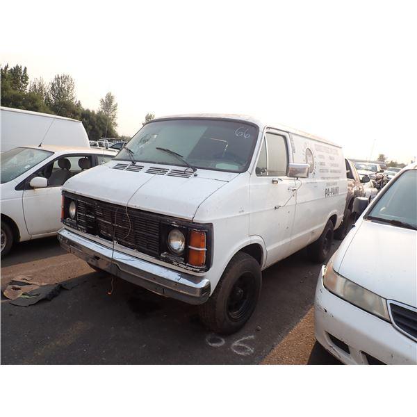 1985 Dodge Ram 1500 Van