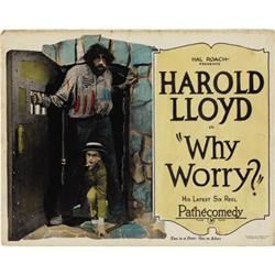 Why Worry? (Pathé, 1923)  Title Lobby Card (11