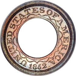 1852 PG$1 Gold Dollar, Judd-147, Pollock-175,