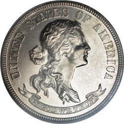 1869 25C Standard Silver Quarter Dollar,