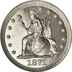 1871 10C Ten Cents, Judd-1084, Pollock-1220, Low