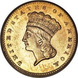 1860-S G$1 MS63 PCGS
