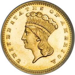 1880 G$1 MS67 NGC