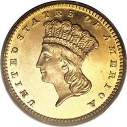 1863 G$1 PR65 Deep Cameo PCGS
