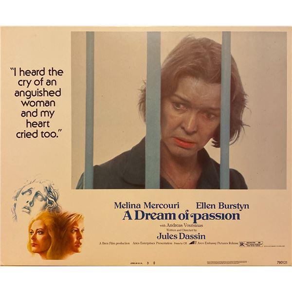 A Dream of Passion 1978 original vintage lobby card