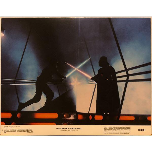 Star Wars: The Empire Strikes Back 1980 original vintage lobby card