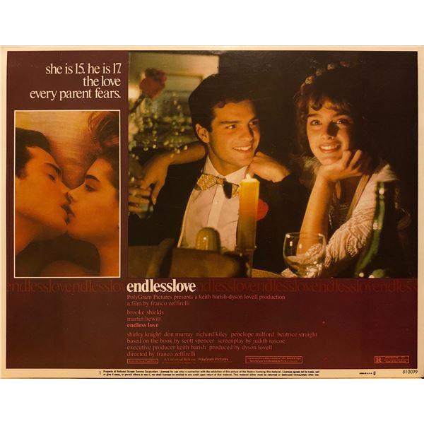 Endless Love 1981 original vintage lobby card