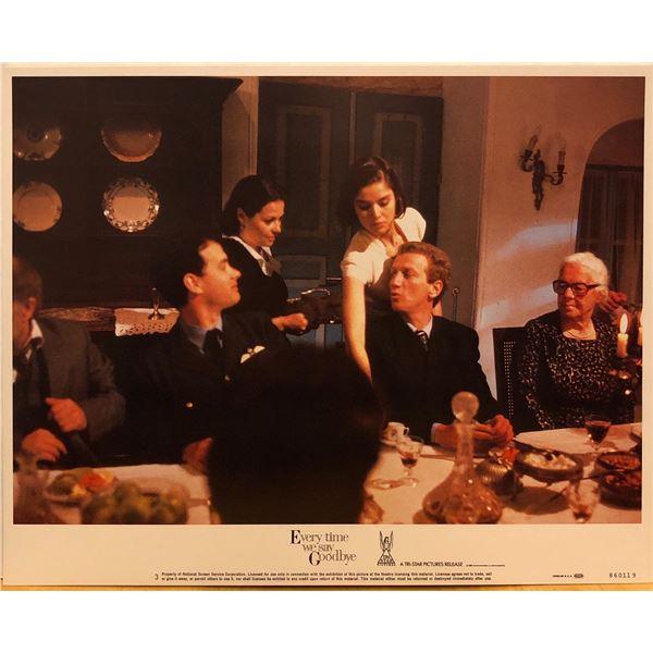 Every Time We Say Goodbye 1986 original vintage lobby card