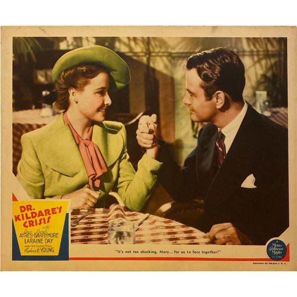 Dr. Kildare's Crisis 1940 original vintage lobby card