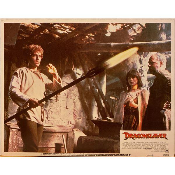 Dragonslayer 1981 original vintage lobby card
