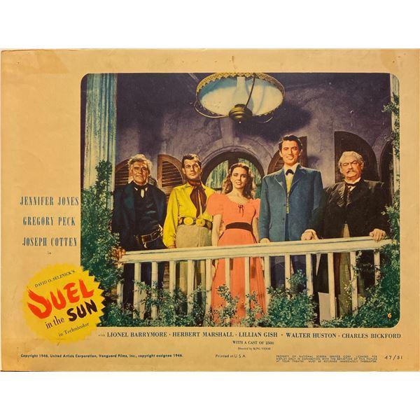 Duel in the Sun 1947 original vintage lobby card