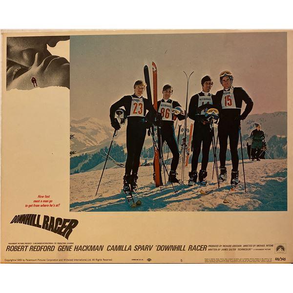 Downhill Racer 1969 original vintage insert card