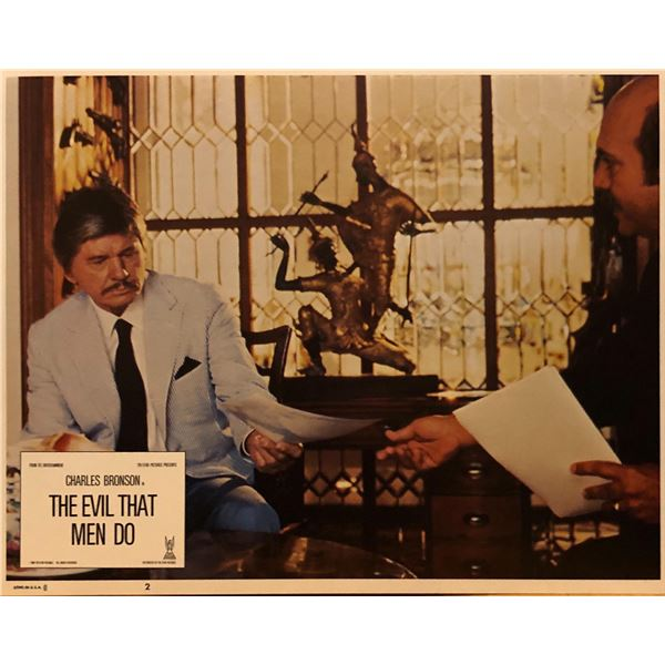 The Evil That Men Do 1984 original vintage lobby card