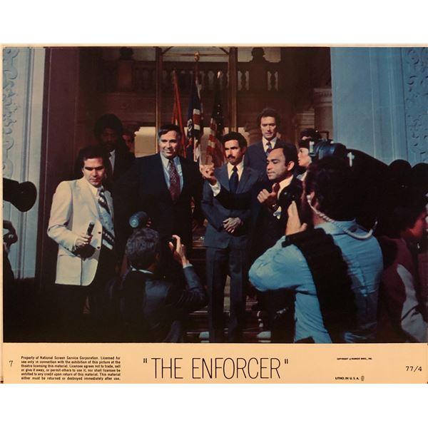 The Enforcer 1951 original vintage lobby card