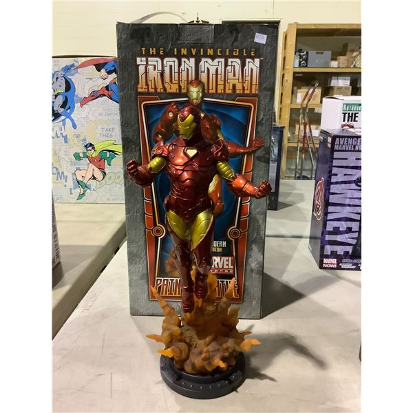 THE INVINCIBLE IRON MAN COLLECTIBLE PAINTED STATUE