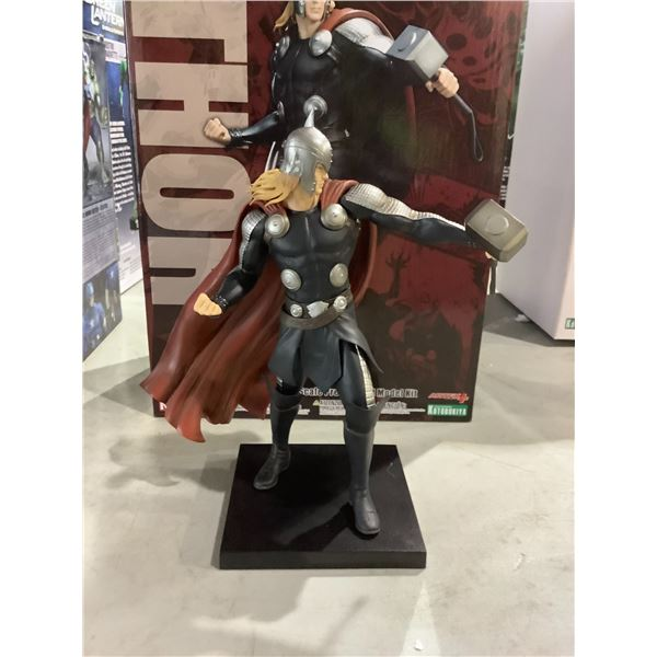THOR C1/10 SCALE PRE-PAINTED MODEL KIT EAR NEEDS TO BE GLUED BACK