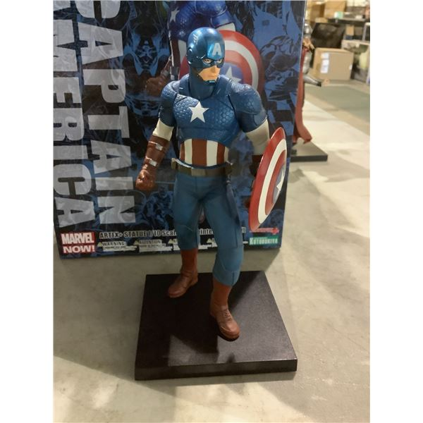 CAPTAIN AMERICA 1/10 SCALE PRE PAINTED COLLECTIBLE FIGURE