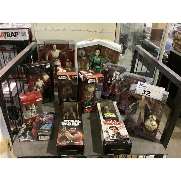 ASSORTED NEW IN PACKAGING STAR WARS TOYS
