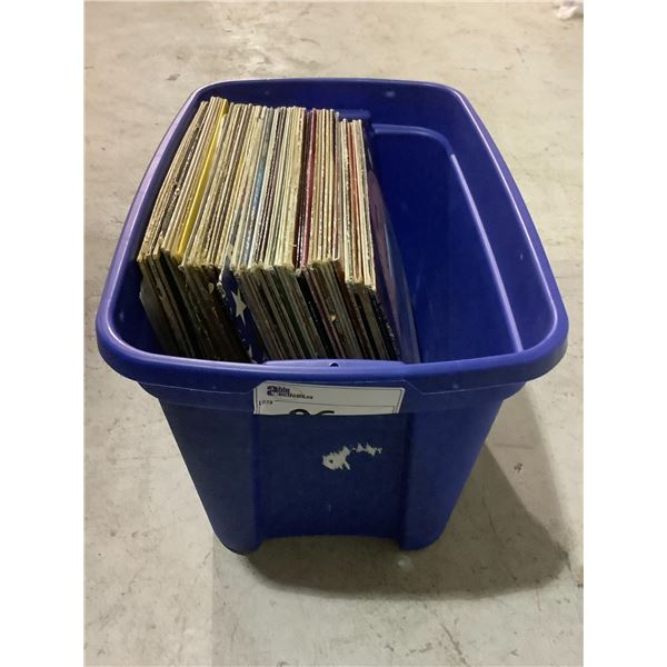 ASSORTED VINYL RECORDS INCLUDING: BARRY DEVORZON, BEER DRINKIN SING ALONGS, AL MARTINO, & MUCH MORE