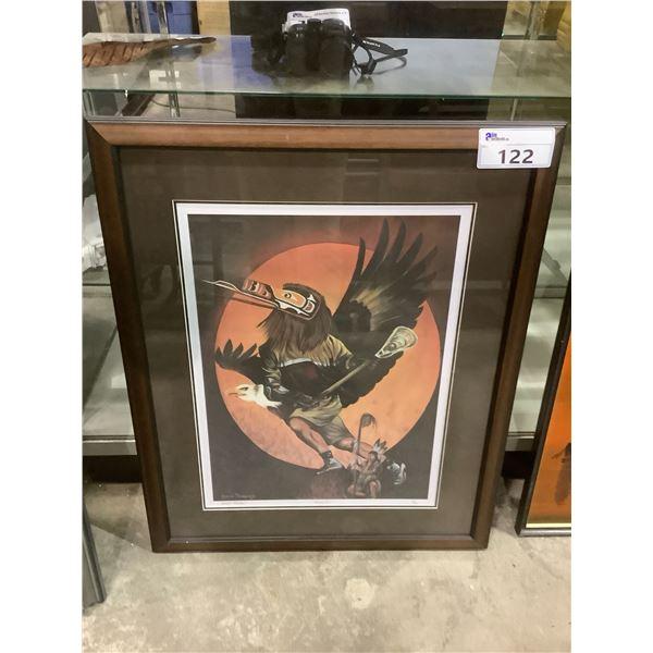 "FRAMED GORDON PATERSON ""RISING SUN"" LEP 10/100 SIGNED BY ARTIST"