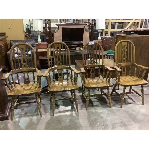4 WINTER BACK CHAIRS