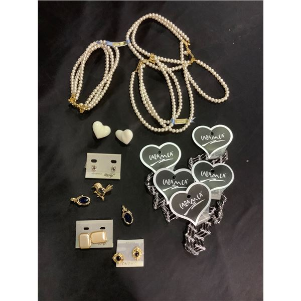 """LISA KAO JEWELRY """"KIMONO"""" COLLECTION 3 PEARL NECKLACES RETAILS $189 EACH """"CREATIONS"""""""