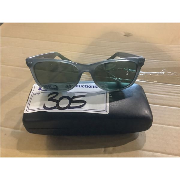 TOMS SUNGLASSES WITH A HARD CASE