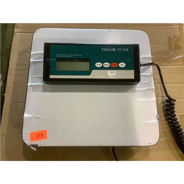 TAYLOR TE150 SCALE 150LBS MAX CAPACITY
