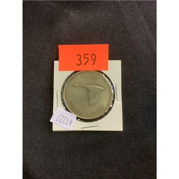 CANADIAN DOLLAR 1867-1967