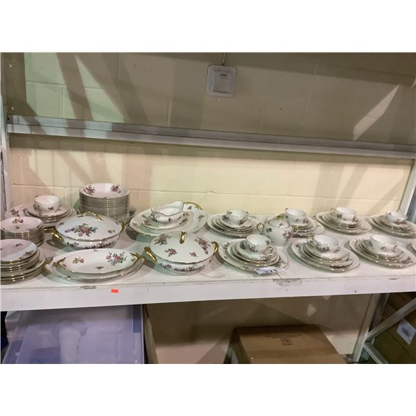 LARGE COLLECTION OF LIMOGES CHINA