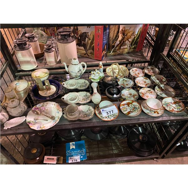 ASSORTED CHINAWARE, DISHWARE, AND HOME DECOR