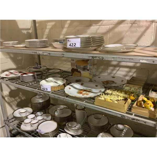 ASSORTED DISHWARE AND COLLECTIBLES