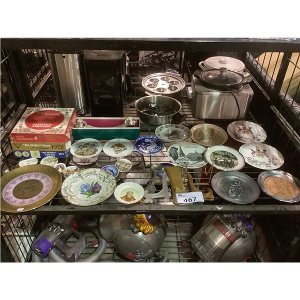 ASSORTED COLLECTIBLE PLATES AND MORE