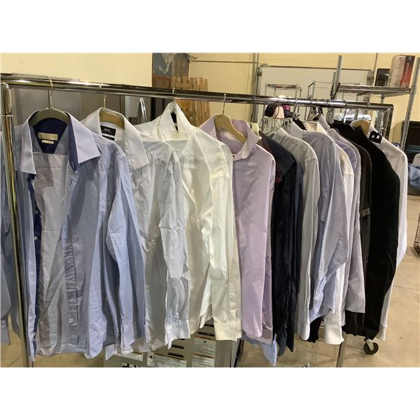 ASSORTED DRESS SHIRTS AND JACKETS BRANDS INCLUDE; MEXX, JOHN LENNON, BENCH AND MORE