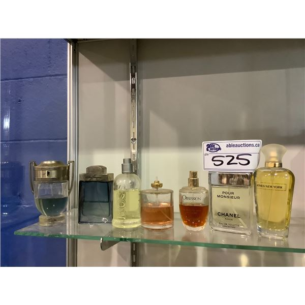 ASSORTED COLOGNE AND PERFUMES BRANDS INCLUDING; CHANEL, HUGO BOSS, PACO RABANNE AND MORE