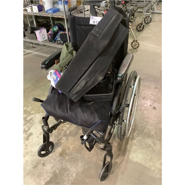 MOTION COMPOSITES WHEELCHAIR WITH SEAT CUSHION