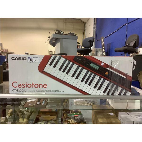 CASIO CASIOTONE CT-S200RD PIANO