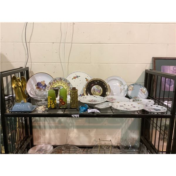 ASSORTED COLLECTIBLE DISHWARE