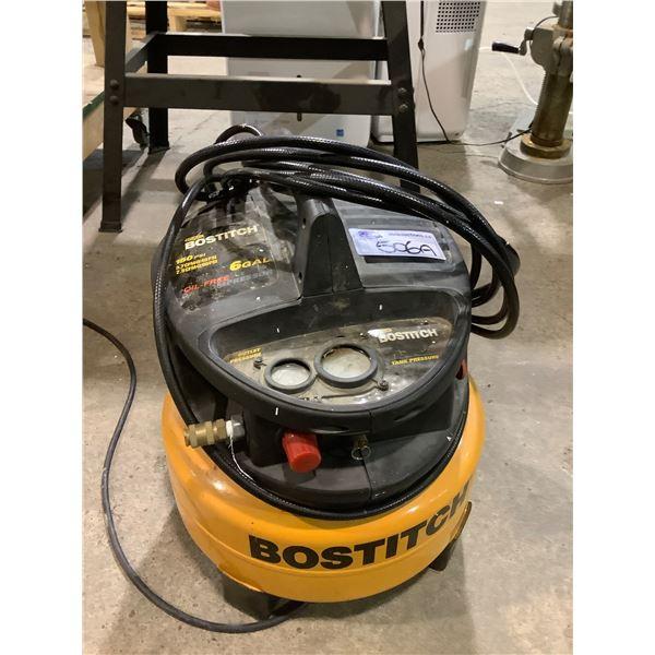 BOSTITCH OIL FREE 6GAL 150PSI AIR COMPRESSOR