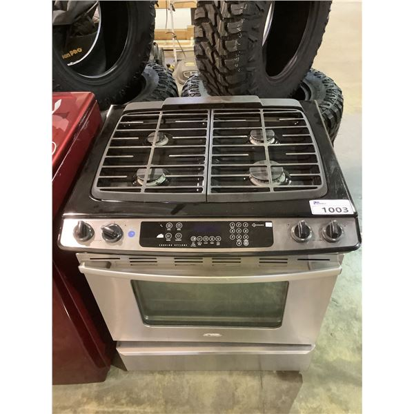 WHIRLPOOL GAS RANGE STOVE WITH CONVENTIONAL OVEN MODEL GW397LXUS2