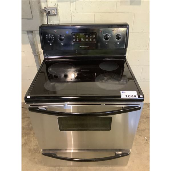 FRIGIDAIRE ELECTRIC STOVE WITH CONVENTIONAL OVEN MODEL CFEF372BC2