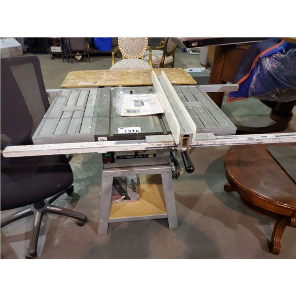 """10"""" TABLE SAW MODEL TSC-10 & ACCESSORIES"""