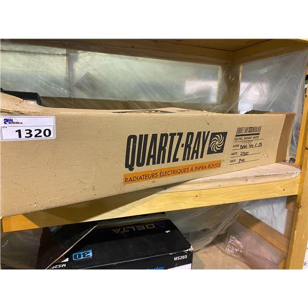 QUARTZ-RAW INFRARED ELECTRIC RADIANT HEATER