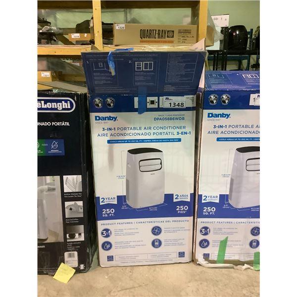 DANBY 3-IN-1 PORTABLE AIR CONDITIONER 10,000 BTU MODEL DPA058B6WDB