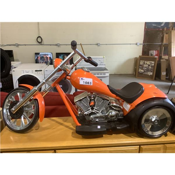 SAFETY 1ST CHILDREN'S ELECTRIC MOTORCYCLE NO CHARGER MAY NEED REPAIRS