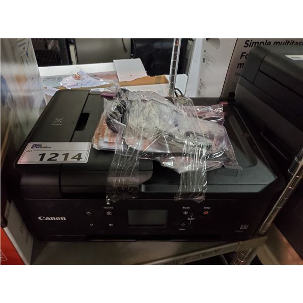CANON PIXMA TR7620 ALL-IN-ONE PRINTER (OUT OF BOX, WITH POWER CORD)