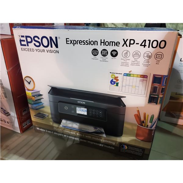 EPSON EXPRESSION HOME XP-4100 PRINTER